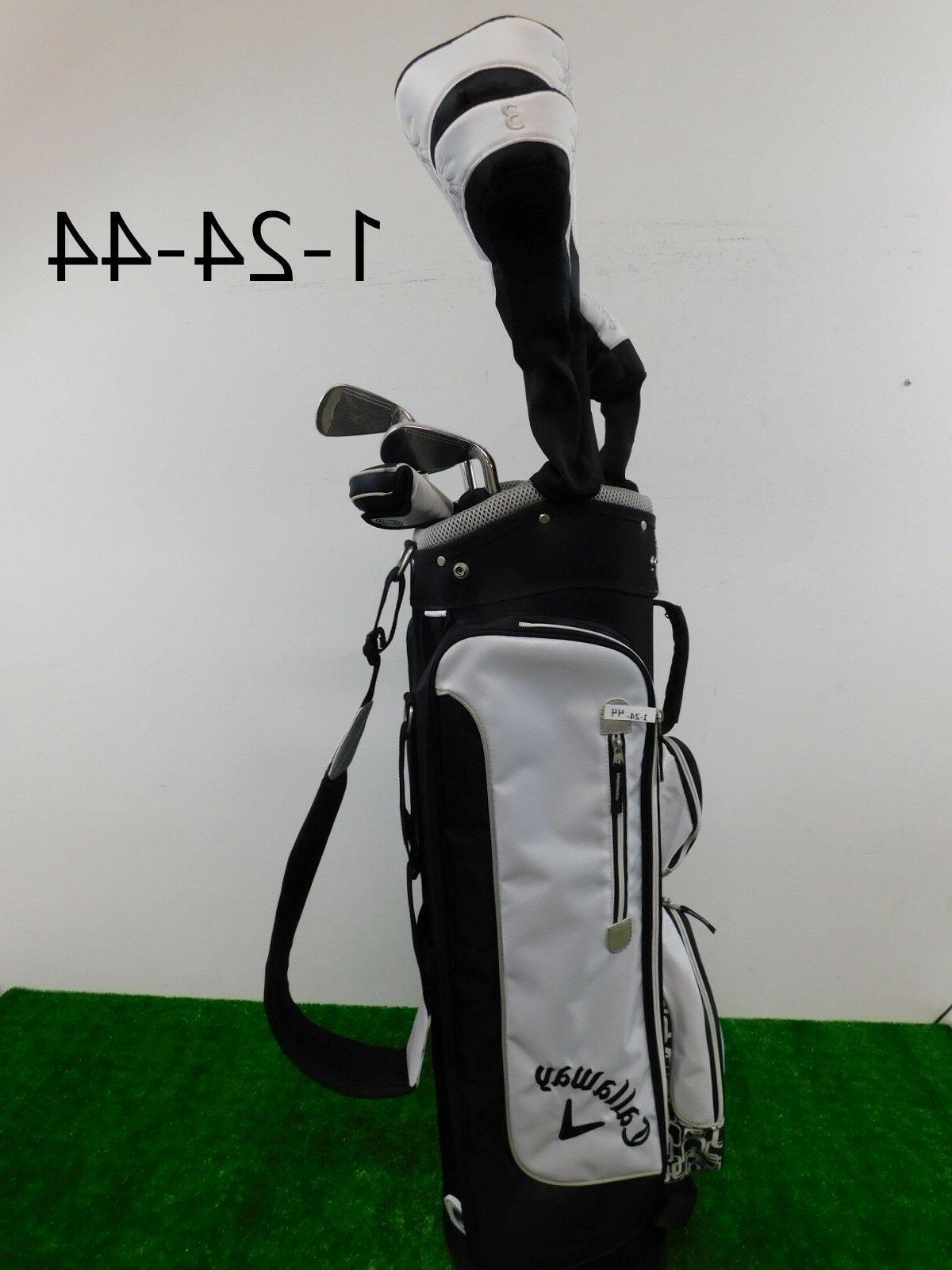 solaire gems womens black complete golf set
