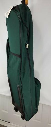 Samsonite Sport Green Wheeled Padded Golf Travel Area