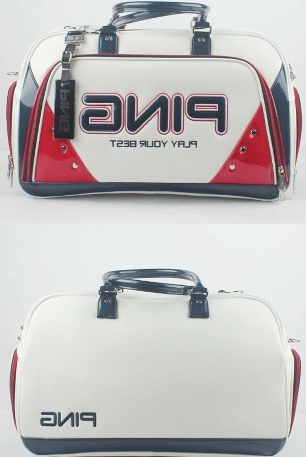 PING SPORTY Sports Carry 100% PU,1.8kg,Black/White