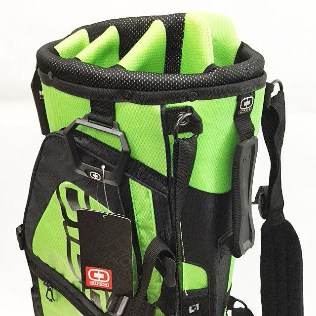 OGIO SPYKE STAND BAG MOSS BLACK 8-WAY TOP STRAP