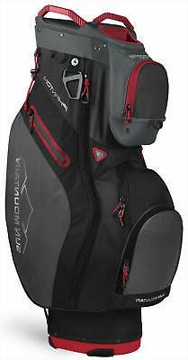 Sun Mountain Phantom Cart Bag 2020 Golf Black/Gunmetal/Red 1