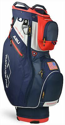 Sun Mountain Phantom Cart Bag 2020 Golf Navy/White/Red USA 1