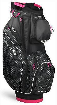 Sun Mountain Women's Sierra Cart Bag Ladies Golf 2020 Black/
