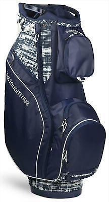 Sun Mountain Women's Sierra Cart Bag Ladies Golf 2020 Navy/W