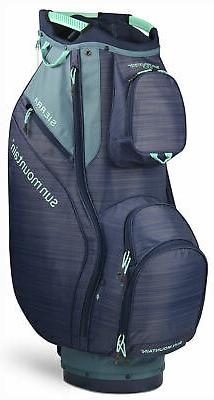 Sun Mountain Women's Sierra Cart Bag Ladies Golf 2020 Spruce