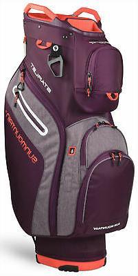 Sun Mountain Women's Starlet Cart Bag Ladies Golf 2020 Plum/