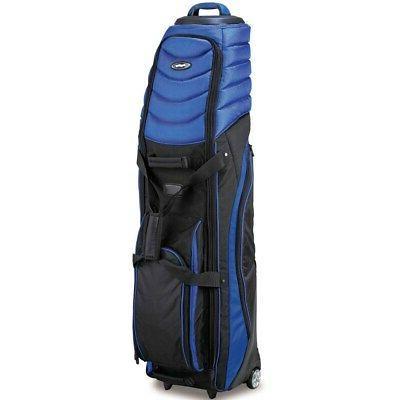 Bag Boy T-2000 Pivot Grip Wheeled Travel Cover, Royal/Black