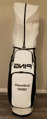 Ping T9.5 Staff Golf Bag With Rain Cover. 2010