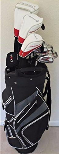 TaylorMade Mens Taylor Made Golf Set - Complete Driver, Fair