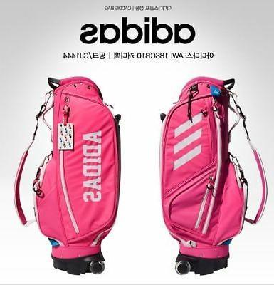 TAYLORMADE ADIDAS Womens Caddie Bag AWL18SCB10 CJ1444 Pink C