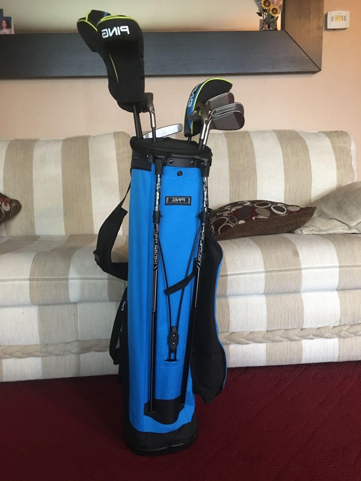 thrive complete golf club set junior left