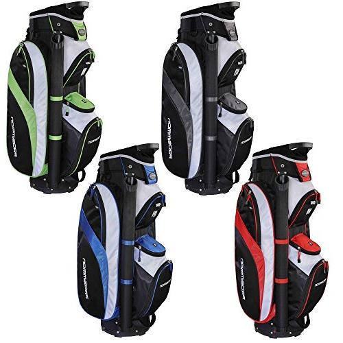 tour 14 way cart golf bag black