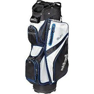 Tour Edge HL3 Golf Cart Mounted Golf Club Bag - Black, Silve
