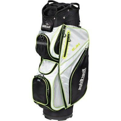 Tour Edge HL3 Mens Golf Club Bag - Black, Silver, Lime