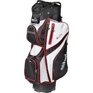 Tour Edge HL3 UBAHKCB03 Golf Club Cart Bag - Black, Silver,