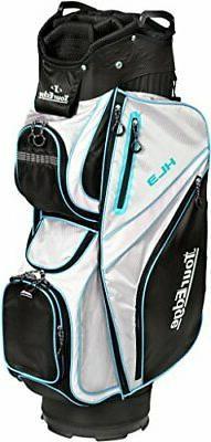 Tour Edge HL3 Women's Golf Club Bag - Black, Silver, Blue
