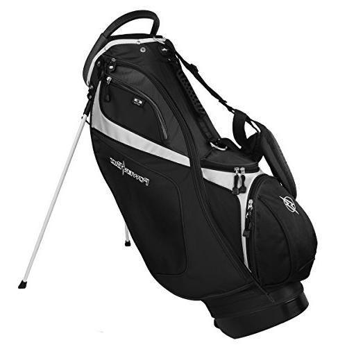Powerbilt Black/Black Stand Golf