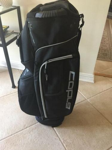 Cobra Golf Cart Bag-Black