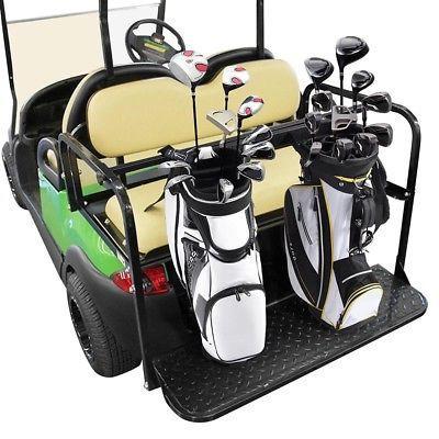 13a63293b3fb Universal Golf Bag Holder Bracket Attachment Cart Rear