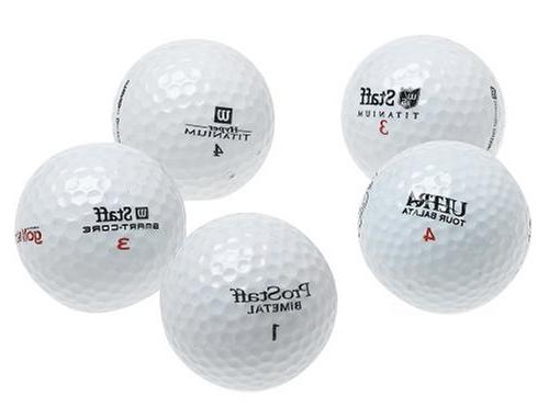 wilson 48 recycled golf balls