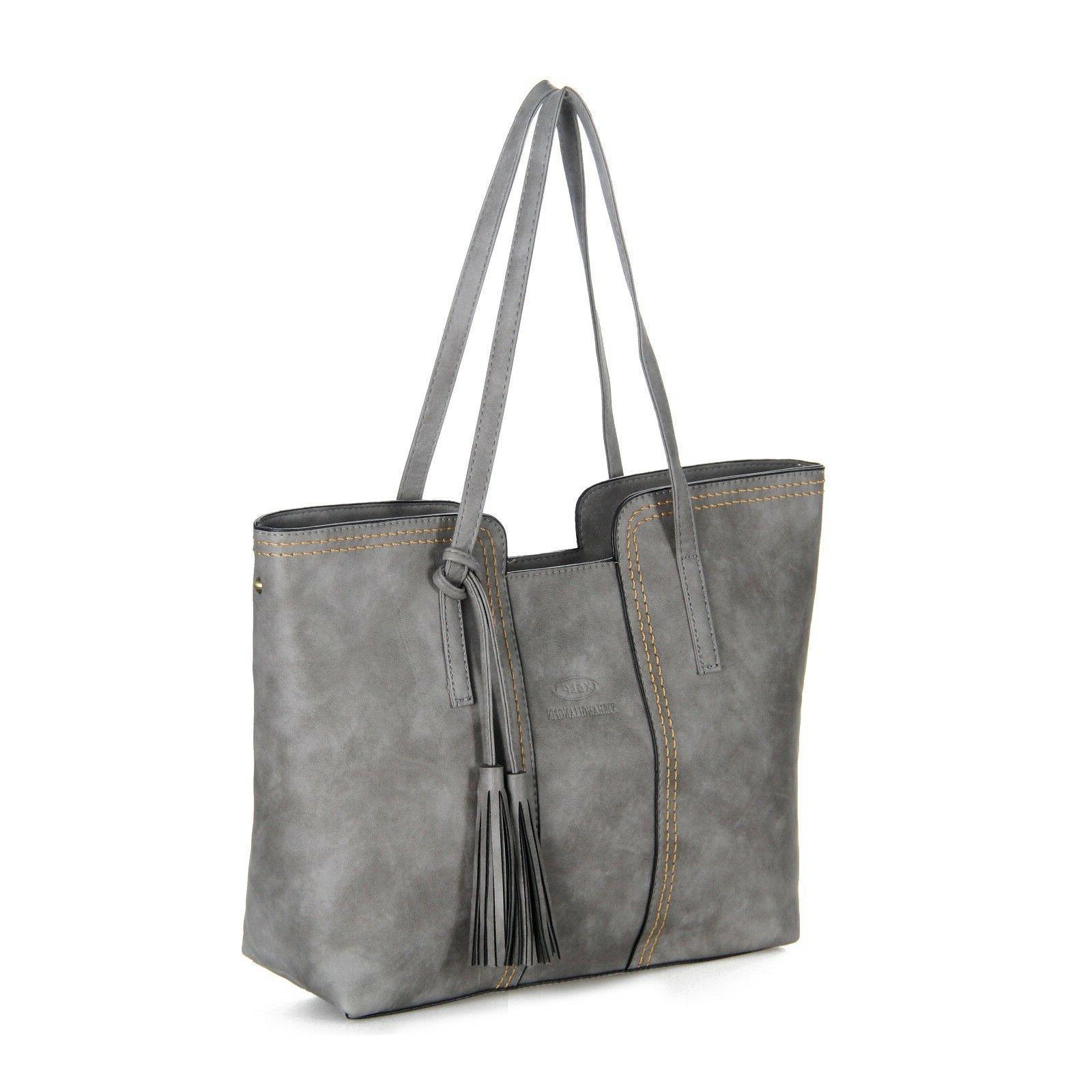 Women Leather Handbag Messenger Satchal Bags T11