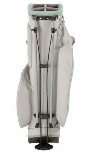 Top Lightweight Stand Bag Mint/Gray