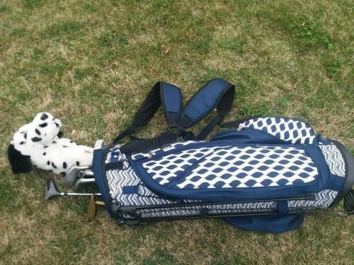 Women's Golf bag golf clubs/putter/ 12 balls