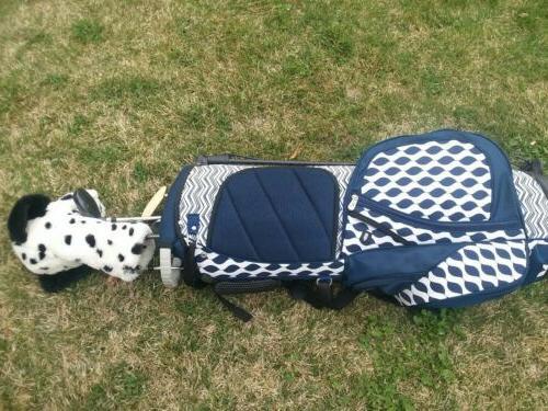 Women's GloVelt Golf bag Waterproof free golf clubs/putter/ 12 balls