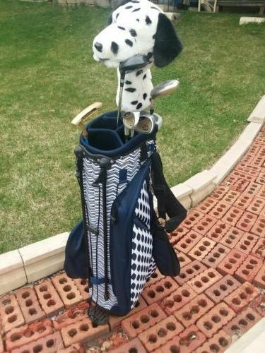 Women's bag clubs/putter/ balls