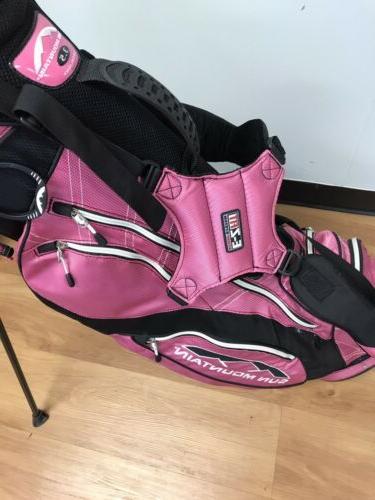 Sun Mountain Women's/ 3.5 Lightweight Golf Stand Bag with LN