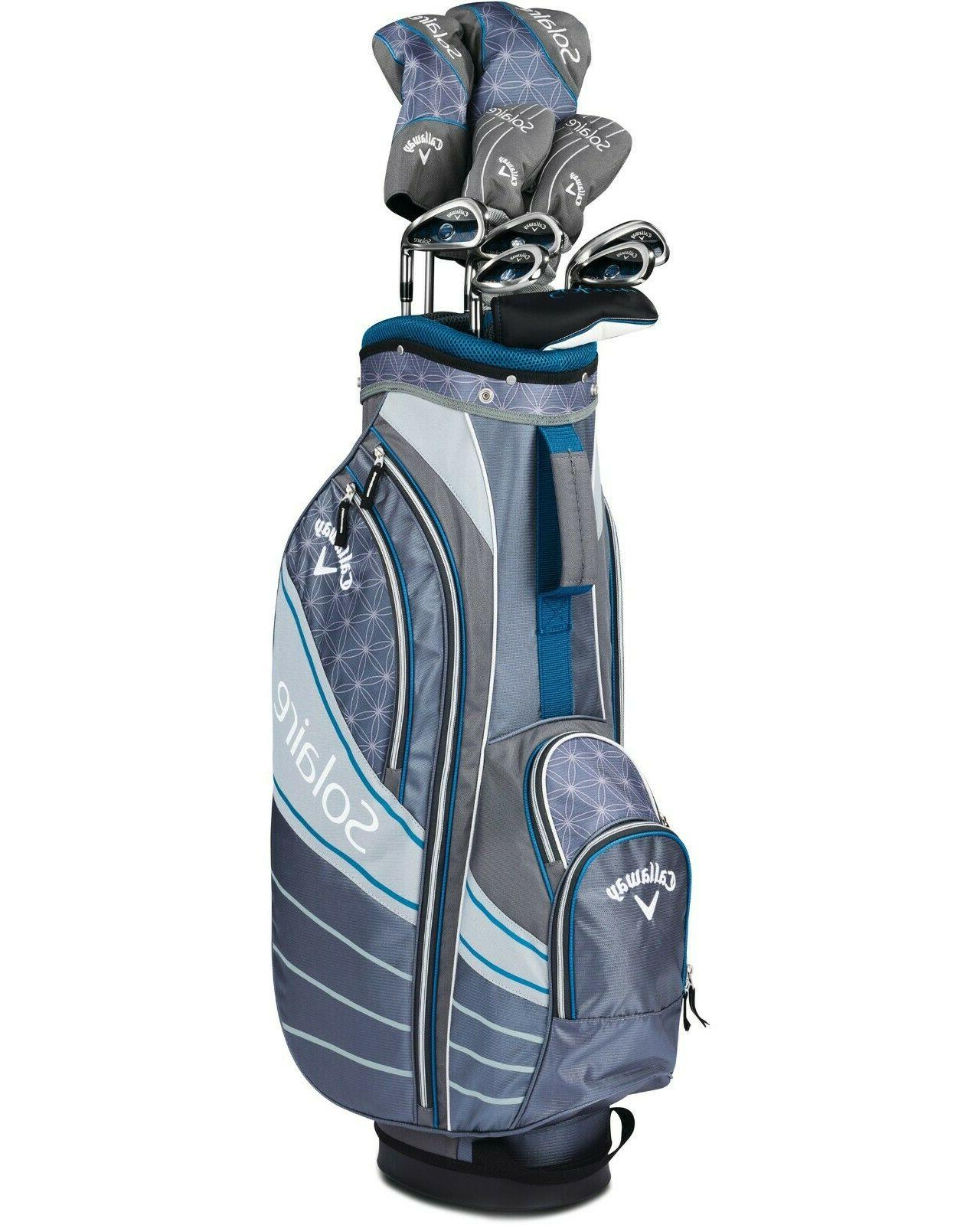 Callaway Womens Solaire Ladies Complete Club 11 Full set w/