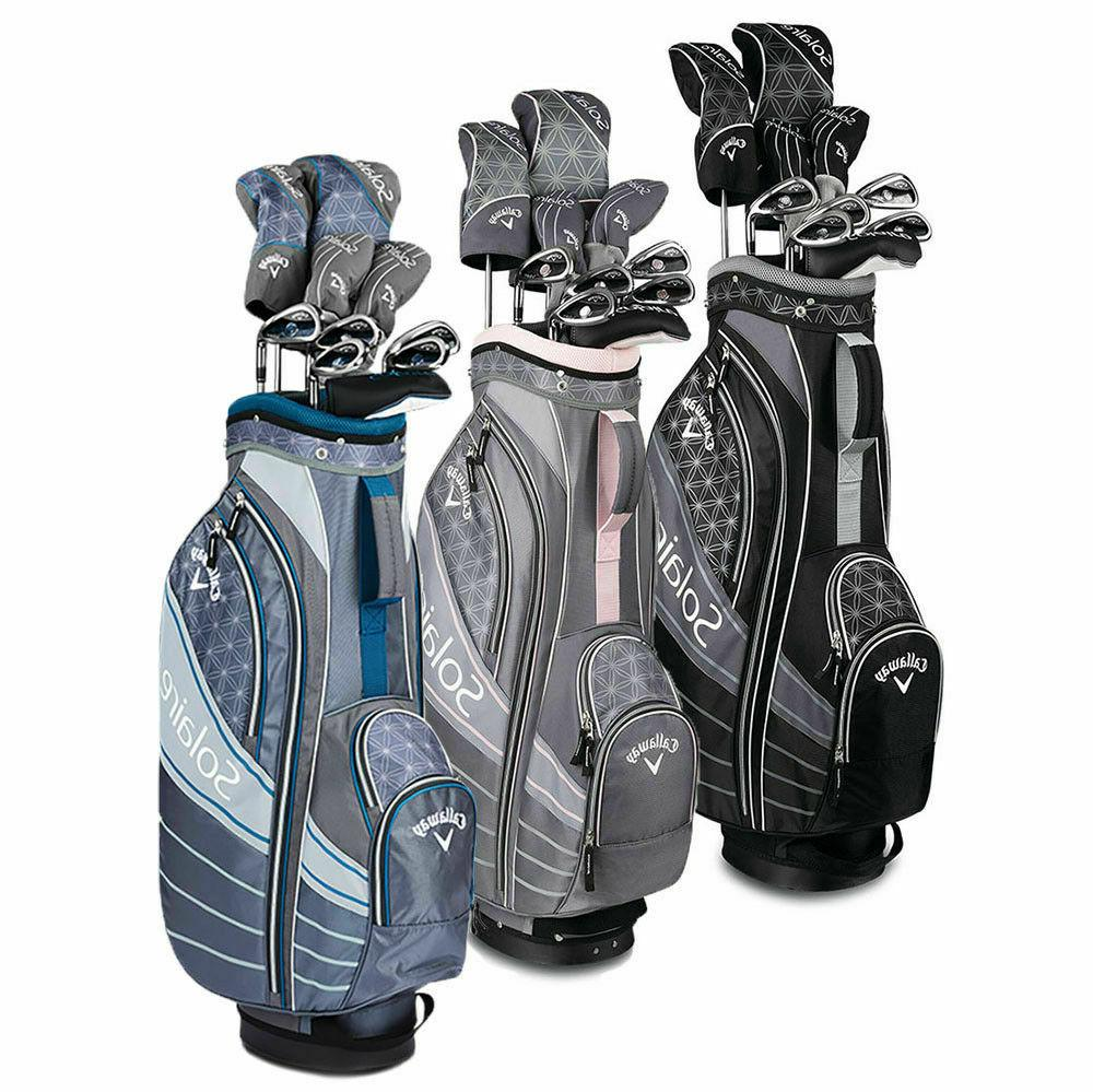 womens solaire ladies complete golf club set