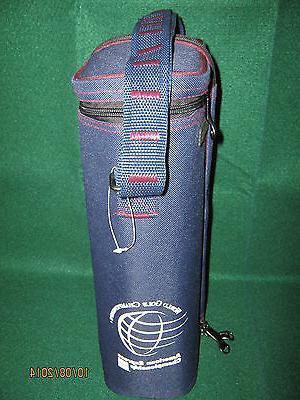 World Golf Championships Wine Bag BLUE  American Express Cha
