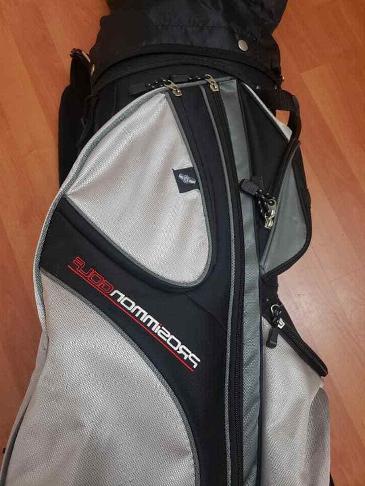 Prosimmon X9 Golf with 10 Clubs Grey Way Divider