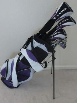 Ladies Complete Golf Club Set Right Handed Driver Wood Hybri