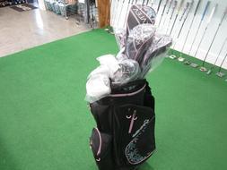 Ladies TaylorMade Kalea Complete Golf Set W/Bag Driver Thru