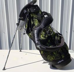 Ladies Molimawk Swag Golf Stand Bag Paisley Design - Light W
