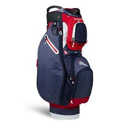 Sun Mountain Ladies Sync  Cart Bag - Red / Navy / White -CLO
