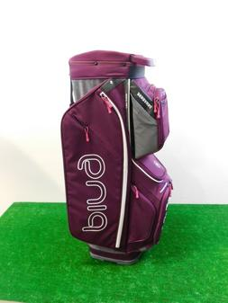 Ping Ladies Traverse Cart Bag Garnet/Heather Grey G Le2 Demo