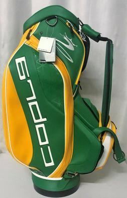 Cobra Limited Edition Staff Bag - Green Yellow - 2017 Erin H