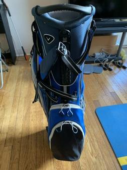lite stand bag blue