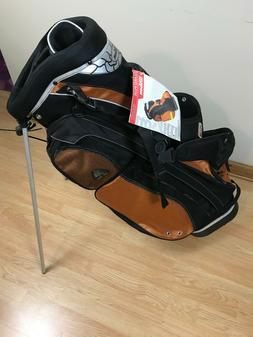Wilson Lizard Plus Stand Carry Golf Bag Copper & Black Dual