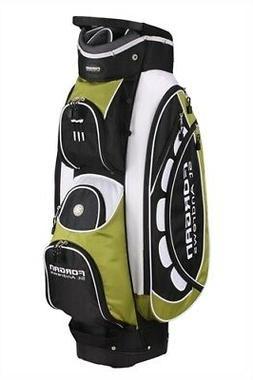 Forgan of St Andrews PRO ll Green & White Cart Golf Bag