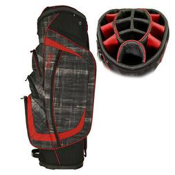 OGIO Men's 2017 Shredder Golf Cart Bag Paranormal Black/Red*
