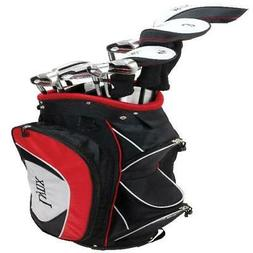 Lynx Power Tune Men's Complete 11-Piece Golf Club Set with C