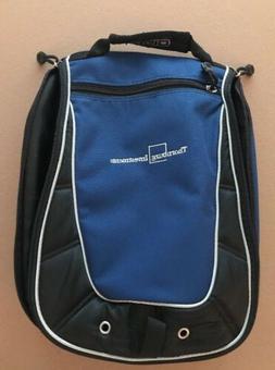 OGIO Men's Golf Shoe Bag-Travel Bag Black & Blue With Thor