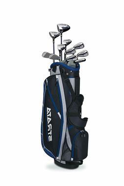 Callaway Mens Strata Plus Complete 16-Piece Golf Club Set Wi