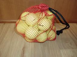 Wilson Mesh Bag of Golf Balls, 2 Dozen, Yellow NEW