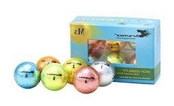 Chromax Metallic M5 Colored Mixed Golf Balls , Assorted