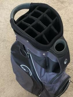 MG GOLF CLUB CART CARRY BAG ~ 15-Way Divider W/ XL Cooler Po